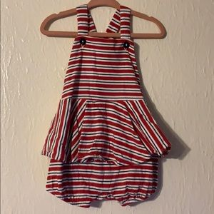 Red, white, and blue romper Ralph Lauren 6m